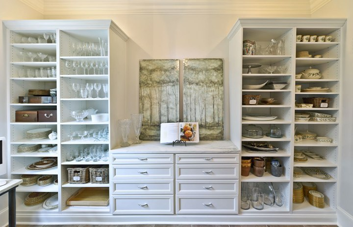 Look at this butler's pantry from: www.organizedliving.com