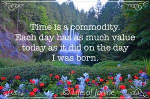 time is a commodity