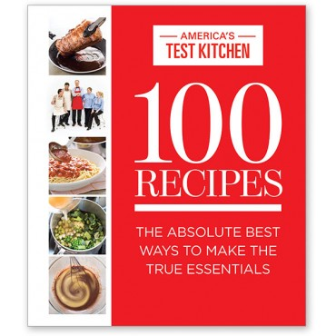 America's Test Kitchen - 100 Recipes