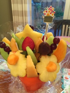 Edible Arrangements bouquet