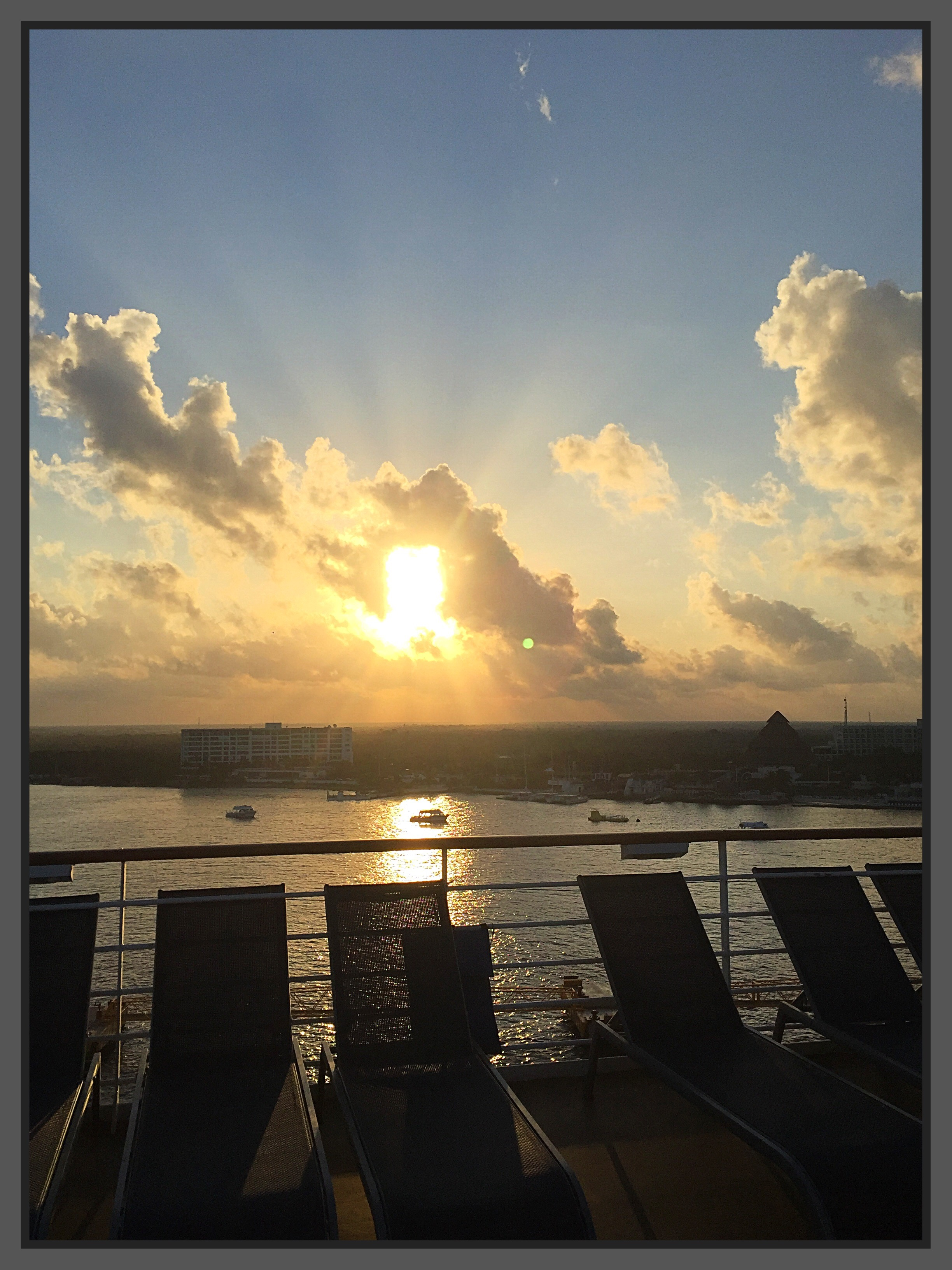 Early Morning Cozumel from Celebrity Constellation
